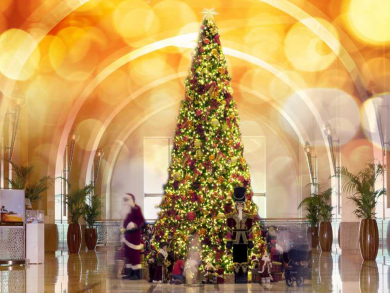 Christmas ladies' night revealed by Fairmont The Palm
