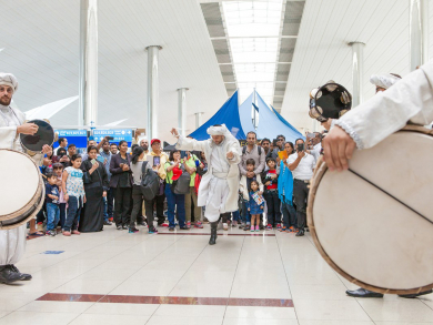 DXB to host exciting airport activation to mark Expo 2020 Dubai: One Year To Go