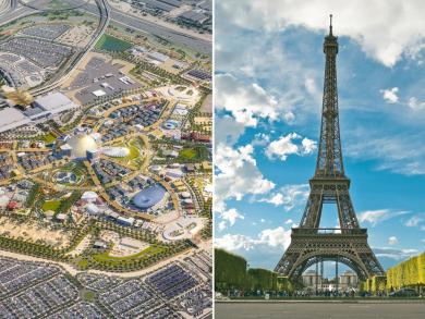 Expo 2020 Dubai: innovations from past expos