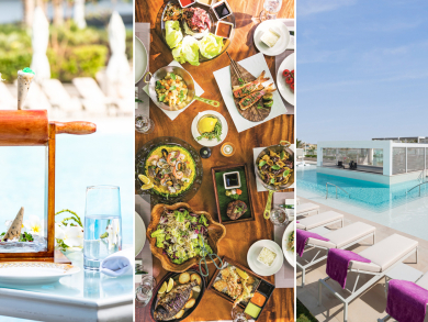 Top Dubai brunches with pool and beach access