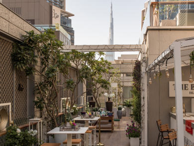 DIFC's Botanical Garden relaunches with new look