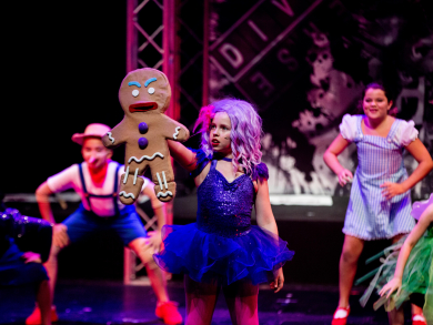 Diverse Performing Arts Center is running a Christmas holiday camp for kids