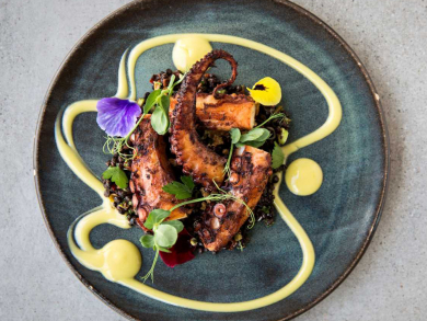 Dine at Abu Dhabi's top restaurants with Pit Stop Menus