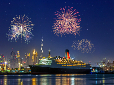 QE2 Dubai to host massive '80s-themed New Year's Eve party