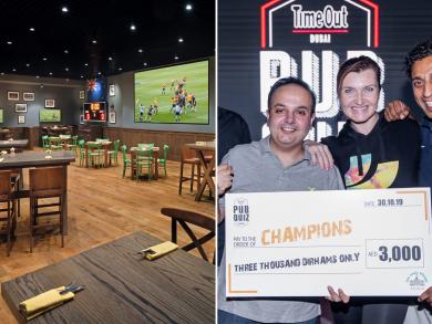 Win Dhs3,000 at Time Out Dubai's pub quiz at Nezesaussi Grill Dubai Marina