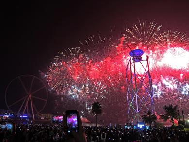 UAE National Day Dubai 2019: Where to watch spectacular firework shows