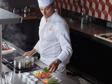 Michelin-awarded chef Paolo Cappuccio is bringing a special Italian menu to Abu Dhabi