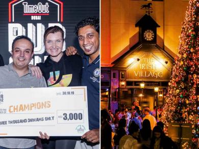 Win Dhs3,000 at Time Out Dubai's Big Christmas Quiz at The Irish Village