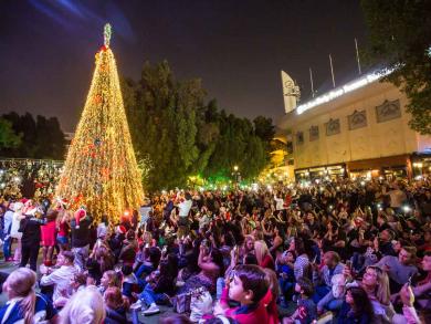 Christmas in Dubai 2019: Christmas tree lightings