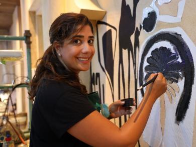 Dubai's Madinat Jumeirah shows off huge new art project