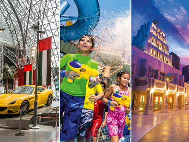 You can get a huge discount at all Yas Island theme parks this weekend
