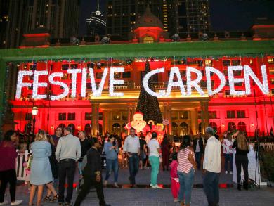 Al Habtoor City kicks off festive season with enchanting events