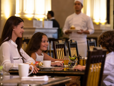 Dig into a traditional Christmas brunch at Jumeirah Zabeel Saray