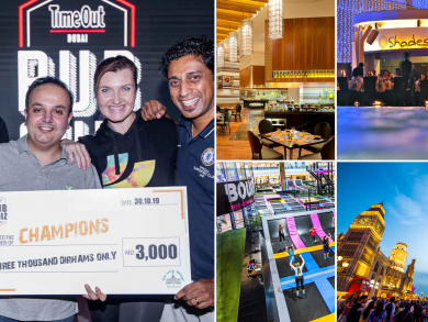Win brunch, rounds of golf and Dhs3,000 at Time Out Dubai's pub quiz at Nezesaussi Grill Dubai Marina
