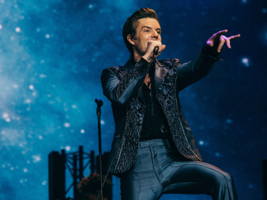 Pictures from The Killers concert at Abu Dhabi Grand Prix 2019