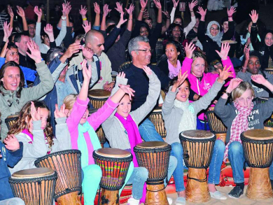 Dubai Drums to throw special Christmas full moon drumming event