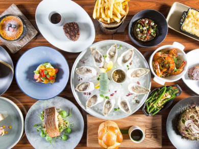 Dig into Christmas brunch at STK Downtown