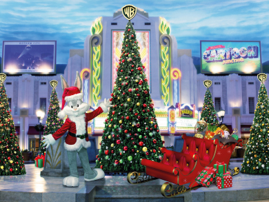 Christmas in the UAE 2019: Winter Spectacular at Warner Bros. World Abu Dhabi!