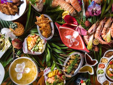 Trader Vic's Madinat Luau Brunch