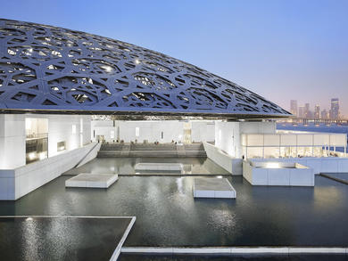 You can take a virtual tour of Louvre Abu Dhabi's current exhibition