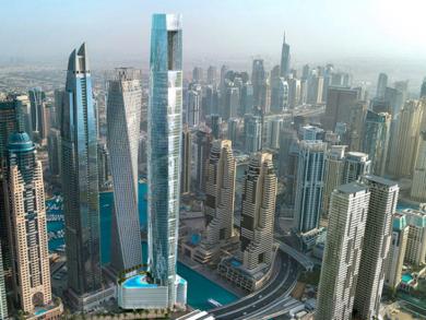 New Dubai Marina hotel to be world's tallest