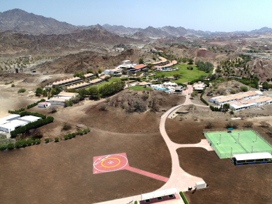 Book a VIP helicopter to Hatta for Christmas this year