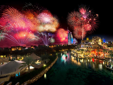 Celebrate New Year's Eve with a mega gala dinner