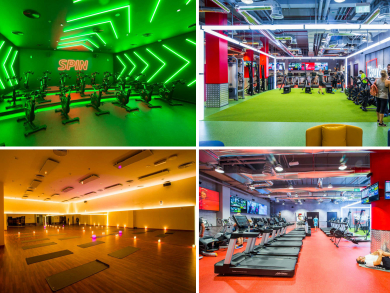 Huge cutting-edge gym opens in the Palm's Nakheel Mall