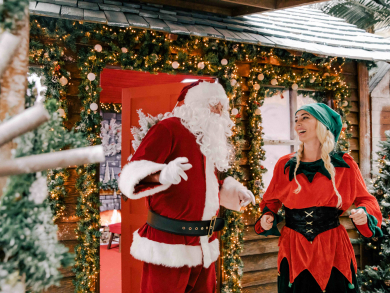Christmas in Dubai 2019: Visit Santa's Grotto at Times Square Center