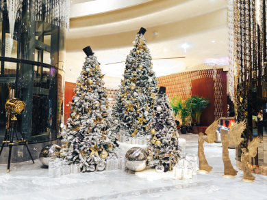 Celebrate Christmas and New Year's Eve at Paramount Hotel Dubai
