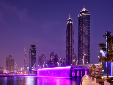 Spend the holiday season at the world's tallest five-star hotel