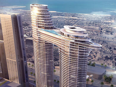 Address Sky View now open in Downtown Dubai