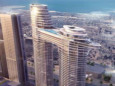 Address Sky View now open in Downtown Dubai