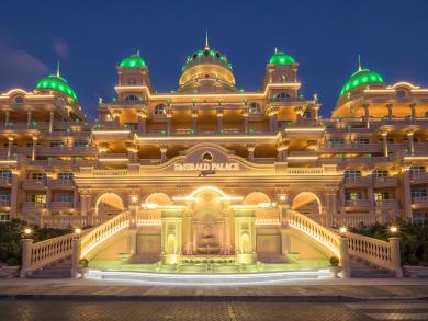 Have an elegant New Year's Eve at Emerald Palace Kempinski Dubai