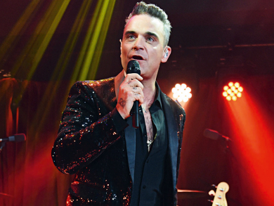 Robbie Williams to play in Dubai