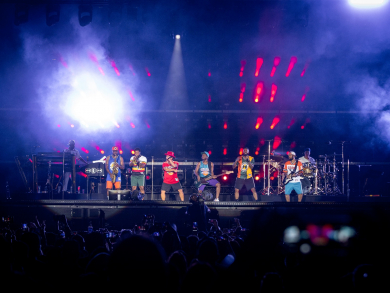 Live review: Bruno Mars in Abu Dhabi on New Year's Eve