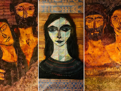 New exhibition from Akram Dost Baloch in Dubai in January