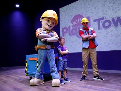 Celebrate Bob the Builder's birthday at Dubai's Mattel Play! Town