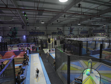 A brand-new indoor jump park is coming to Dubai