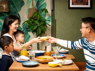 Kids eat free at Dubai's Mango Tree throughout January