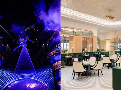 Have brunch and watch Dubai's La Perle for Dhs450