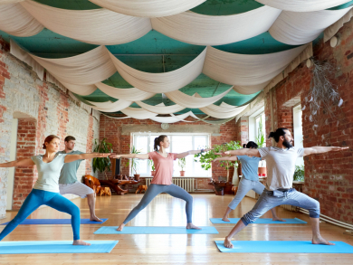 Try free classes at Yoga House Dubai