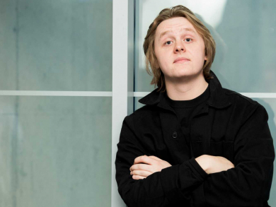 Live review: Lewis Capaldi at the Al Majaz Amphitheatre in Sharjah