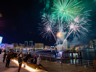 In pictures: Al Seef fireworks