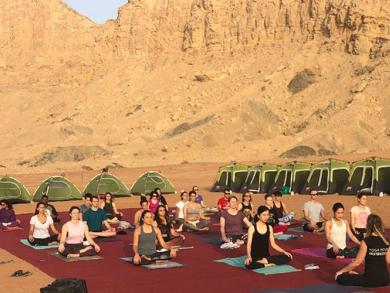 Yoga House hosting special UAE desert camping retreat this weekend
