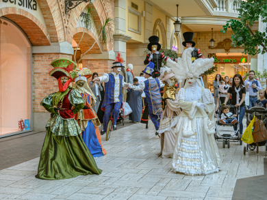 Dubai Shopping Festival 2020: Mercato's fun-filled Masquerade Ballet