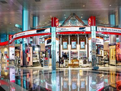 Dubai Duty Free expands arrivals store at DXB
