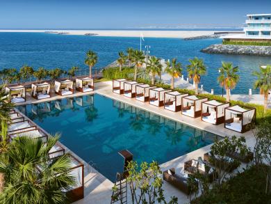Get brunch and pool access at Dubai's Bvlgari Yacht Club