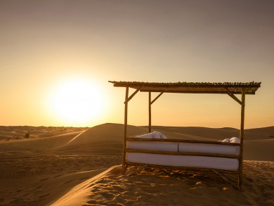 Enjoy a night under the stars at this luxury desert retreat in Dubai this Valentine's Day
