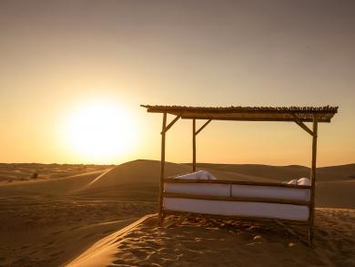 Enjoy a night under the stars at this luxury desert retreat in Dubai this Valentine's Day